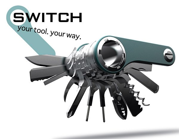 Switch Modular Army Knife