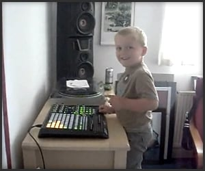 4-Year Old DJ Jack
