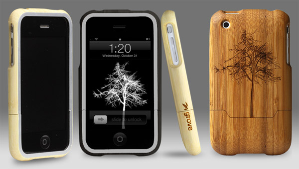 Engraved Bamboo iPhone Cases