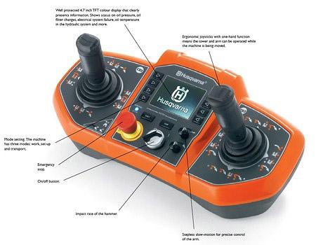 Husqvarna DXR 310 Demo Robot