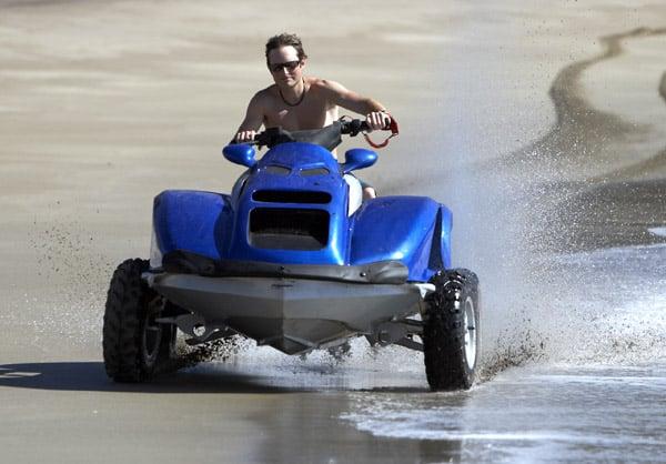 Quadski Amphibious Vehicle