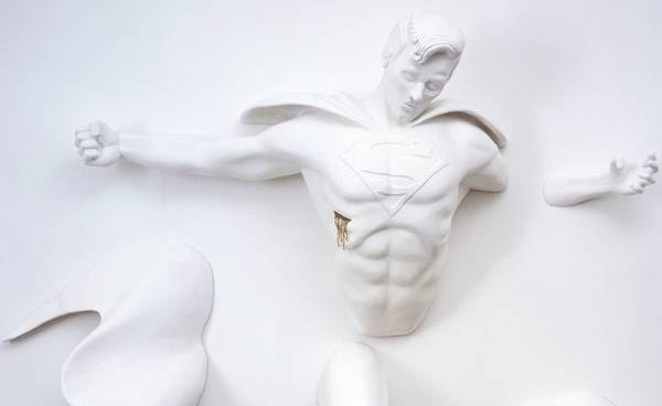 Superhero Sculptures