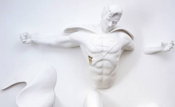 Superhero Sculptures