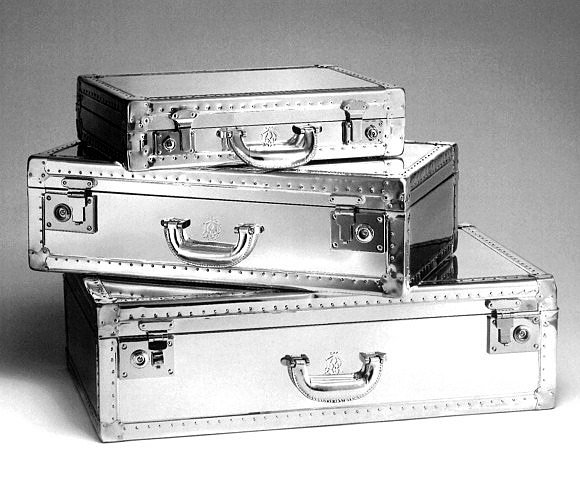Dunhill Aluminum Luggage