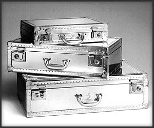 Dunhill Aluminum Luggage