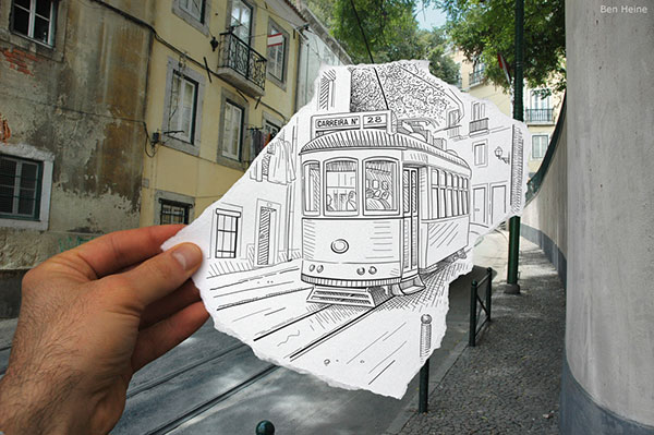 Pencil vs. Camera