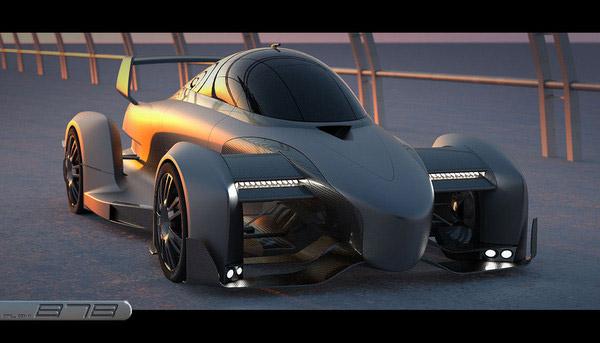 B7 Hi-Speed Hybrid Concept