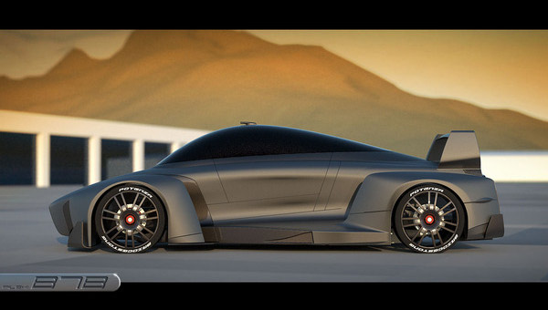 B7 Hi-Speed Hybrid Concept