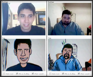 Chatroulette Speed Painting