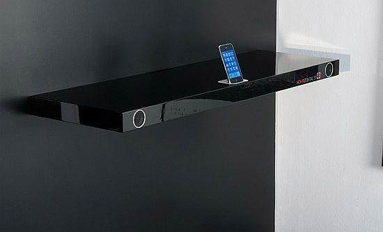 Multimedia iPod Dock Shelf