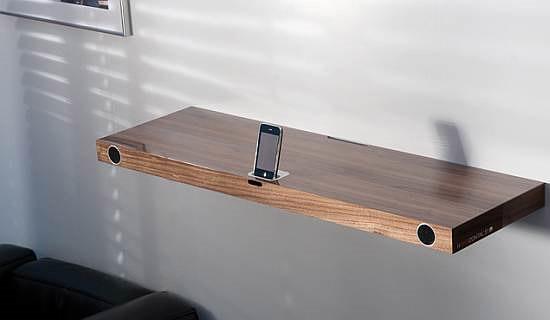 Multimedia iPod Dock Shelf