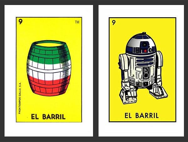 Star Wars Lotería Tribute