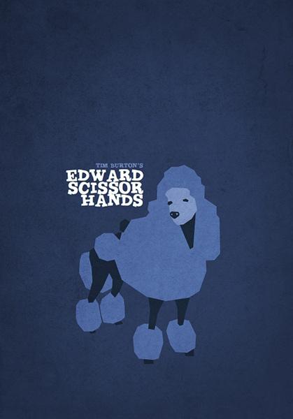 Minimalist Tim Burton Posters