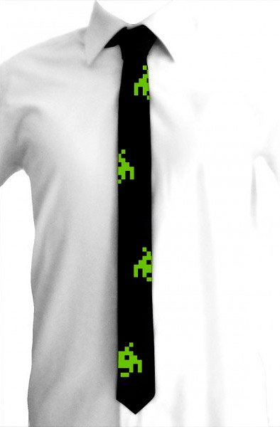 Space Invaders Tie