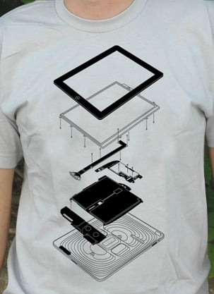 Exploded iPad T-Shirt & Poster