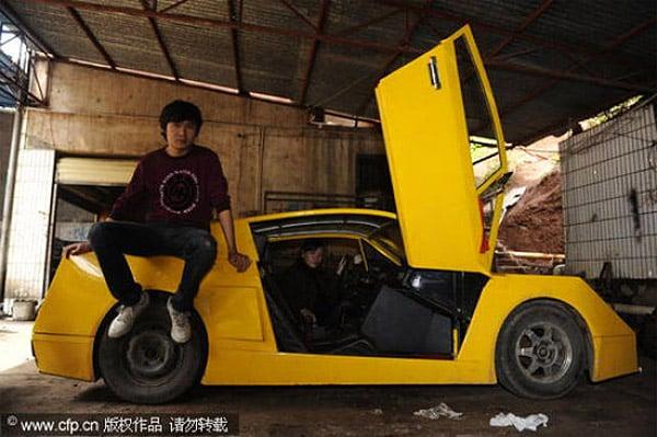 Homemade Chinese Lamborghini