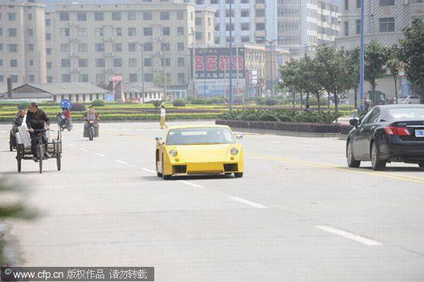 Homemade Chinese Lamborghini