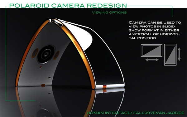 Polaroid Camera Redesign