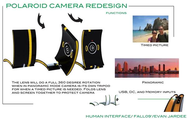Polaroid Camera Redesign