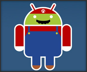 Android Mascot x Video Games