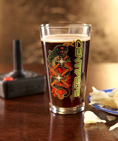 Atari Pint Glasses
