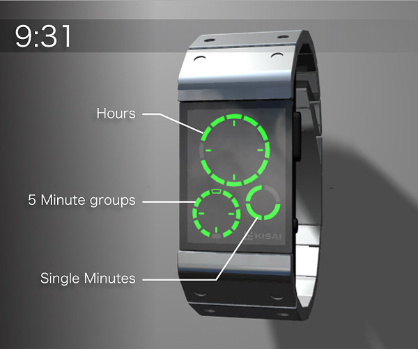 Tokyoflash Sensha Concept Watch