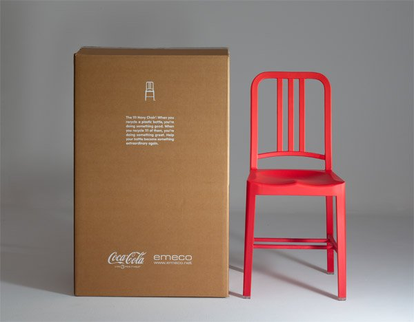 Coca Cola Recycled Bottle Chair The Awesomer