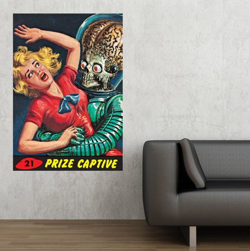 Mars Attacks Wall Graphics