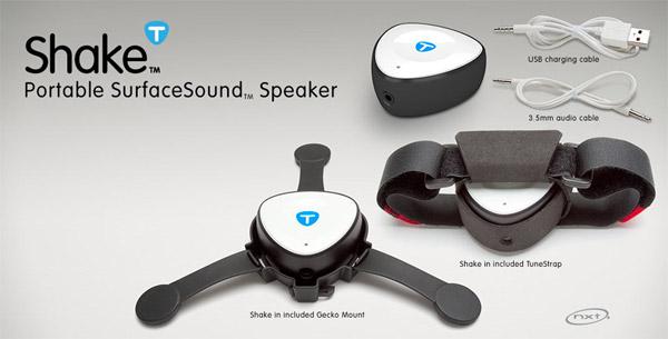 Tunebug Shake Portable Speaker