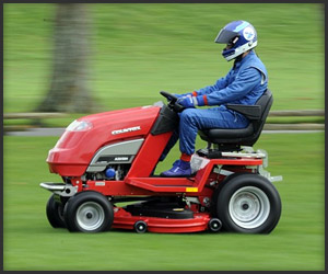 The 100 MPH Lawnmower