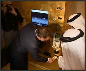 Gold Dispensing ATM