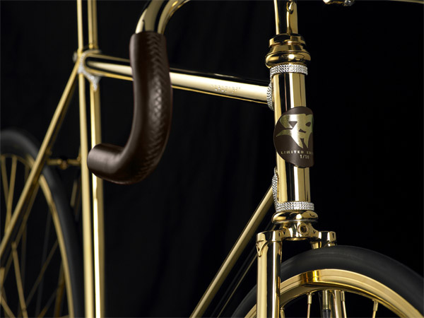 Aurumania 24K Gold Bicycle