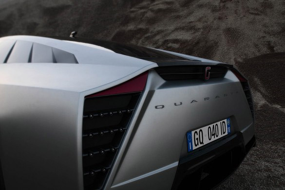 ItalDesign-Giugiaro Quaranta Car