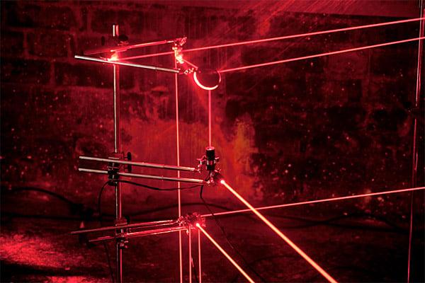 Speed of Light: Laser Furniture