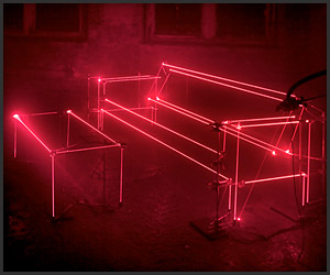 Speed of Light: Laser Furniture