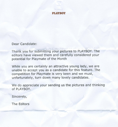 Other PeopleS Rejection Letters  The Awesomer