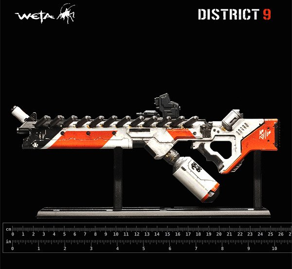 District 9 Mini Assault Rifle