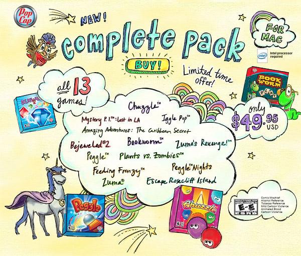 Pop Cap 13-Game Pack