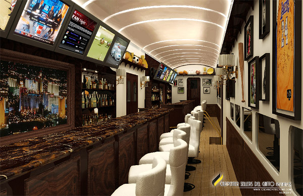 L.A.-to-Vegas Luxury Train