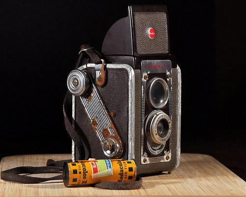 Vintage Camera Found Film