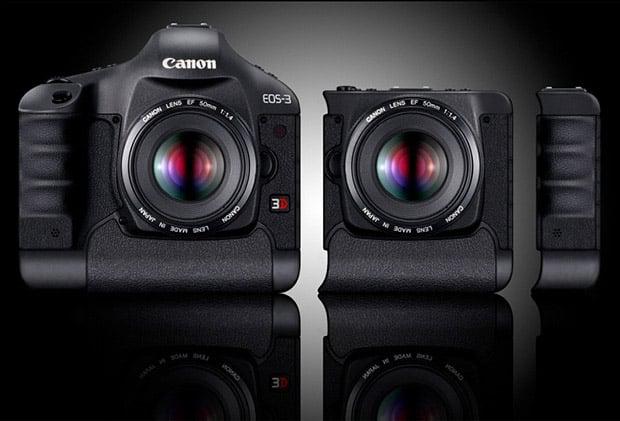 Canon 3D DSLR Concept