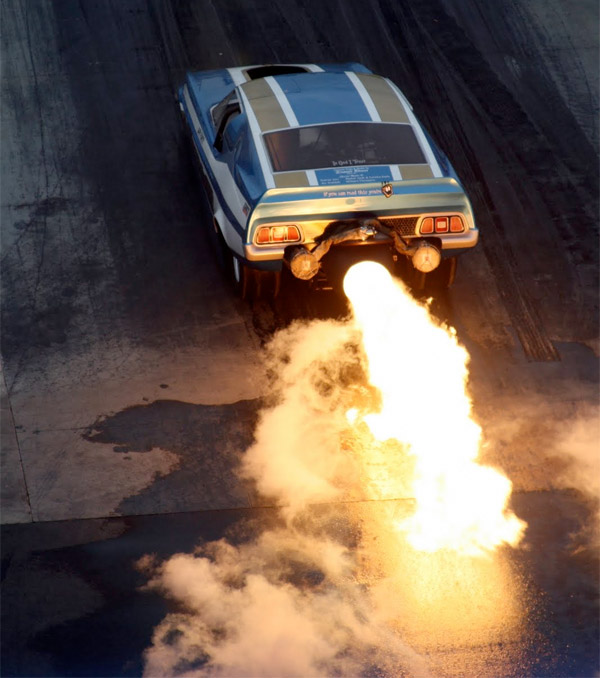 Jet-Powered Ford Mustang
