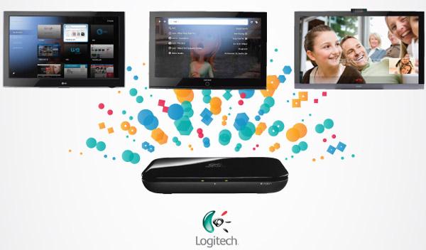 Google TV + Logitech