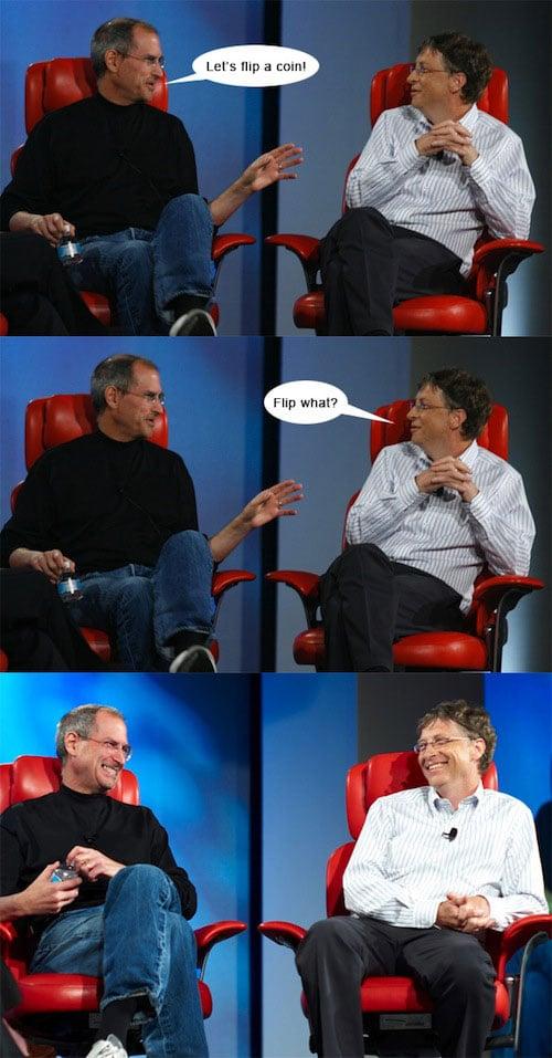 Steve & Bill Comic Strip