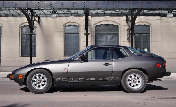 Maradona's Porsche 924