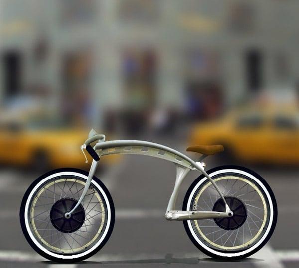 Concept: E boardtracker Bike
