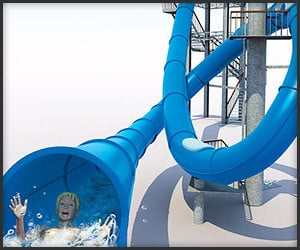 Looping Waterslide