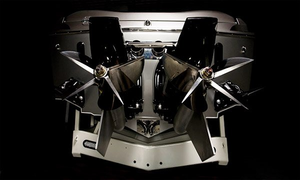 Benz-Inspired Racing Boat