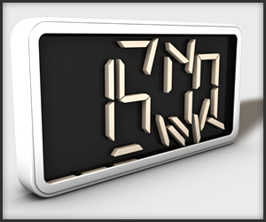 Switchital Concept Clock