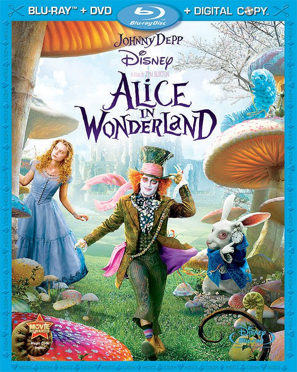 Blu-Ray: Alice in Wonderland